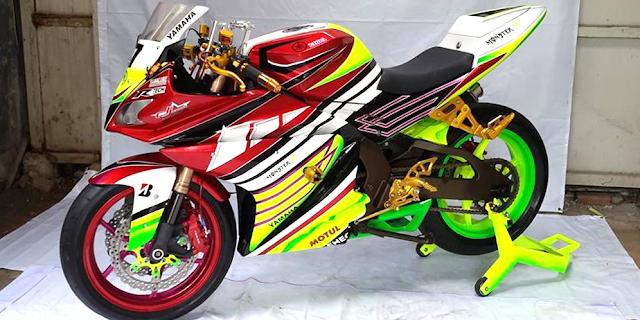 Gambar Modifikasi Motor Yamaha Vixion Terbaru