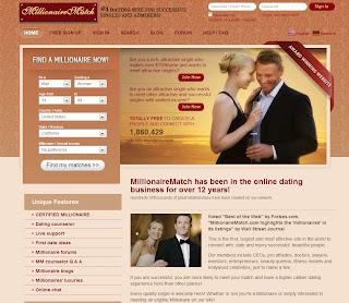 Millionaire match dating