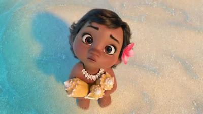 La pequeña Vaiana