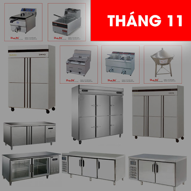 Siêu giảm giá tủ đông công nghiệp tại bếp công nghiệp Hà Nội
