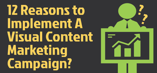 12 Reasons To Implement A Visual Content Marketing Campaign [Infographic]