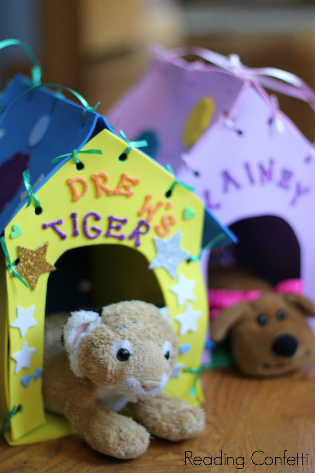 Make Your Own Stuffed Animal House and Carrier ~ Reading ...