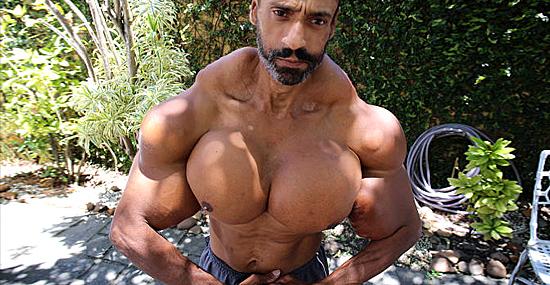 'Músculos de óleo' - nova imagem de homem fortão assombra a internet - Capa