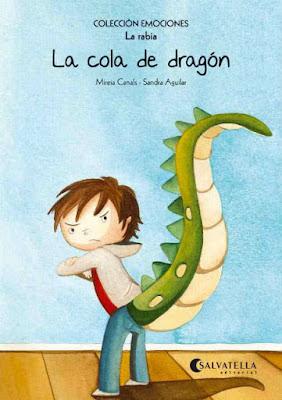 """Libro infantil gestionar rabietas: """"la cola de dragón"""""""