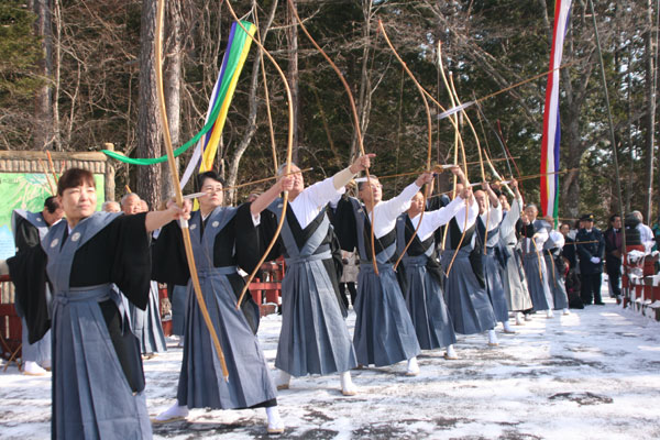 Musha-sai (Japanese Archery), Nikko City, Tochigi Pref.