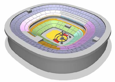 Estadio Azteca U2 360 Tour 2011