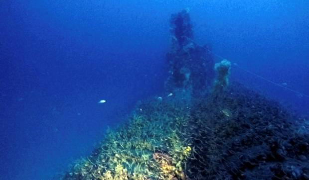 British WWII submarine with 71 bodies inside found off coast of Sardinia