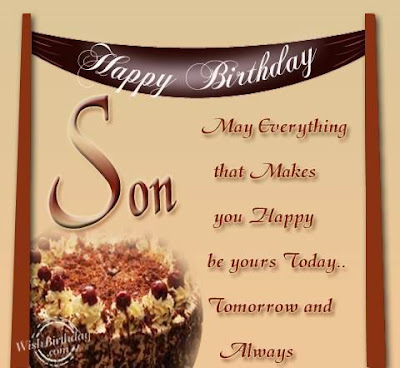 religious birthday wishes for son from mother