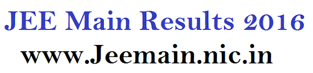 JEE Main Result 2016 Tomorrow jeemain.nic.in with marks, Ranks Name Wise