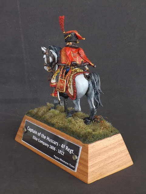 Captain of the Hussars, Elite Company 1806 - 1812 - Pegaso Miniatures 75mm New_1_006