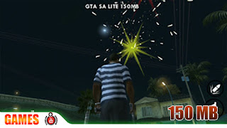 gameplay gta sa lite 150mb