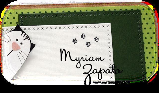 tarjeta amigos gatos by myriam zapata