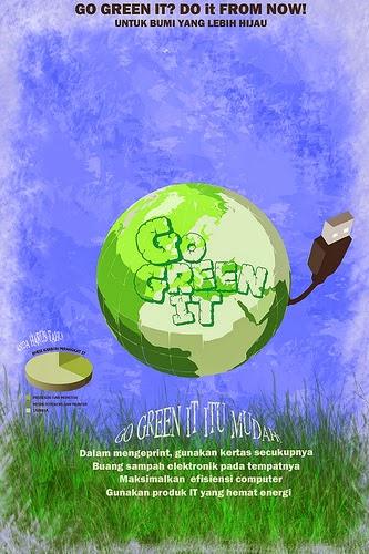 Apa Itu Poster Go Green Seperti Apa Contohnya
