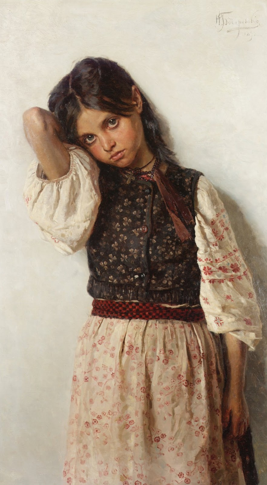 Paintings by Nikolai Bodarevsky (1850-1921)
