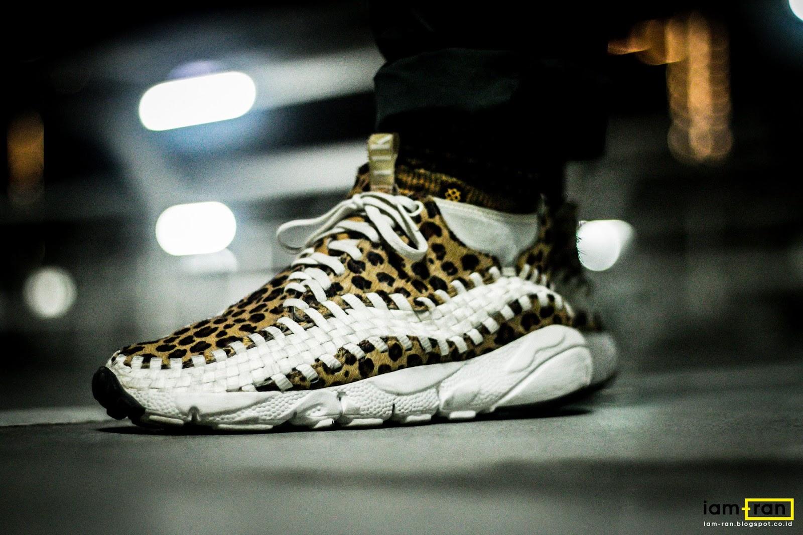 best loved 3d169 46e71 ON FEET   Leo - Nike Air Footscape woven chukka animal print