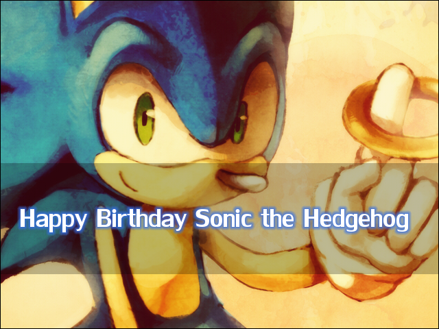 Sonic the Hedgehog Birthday