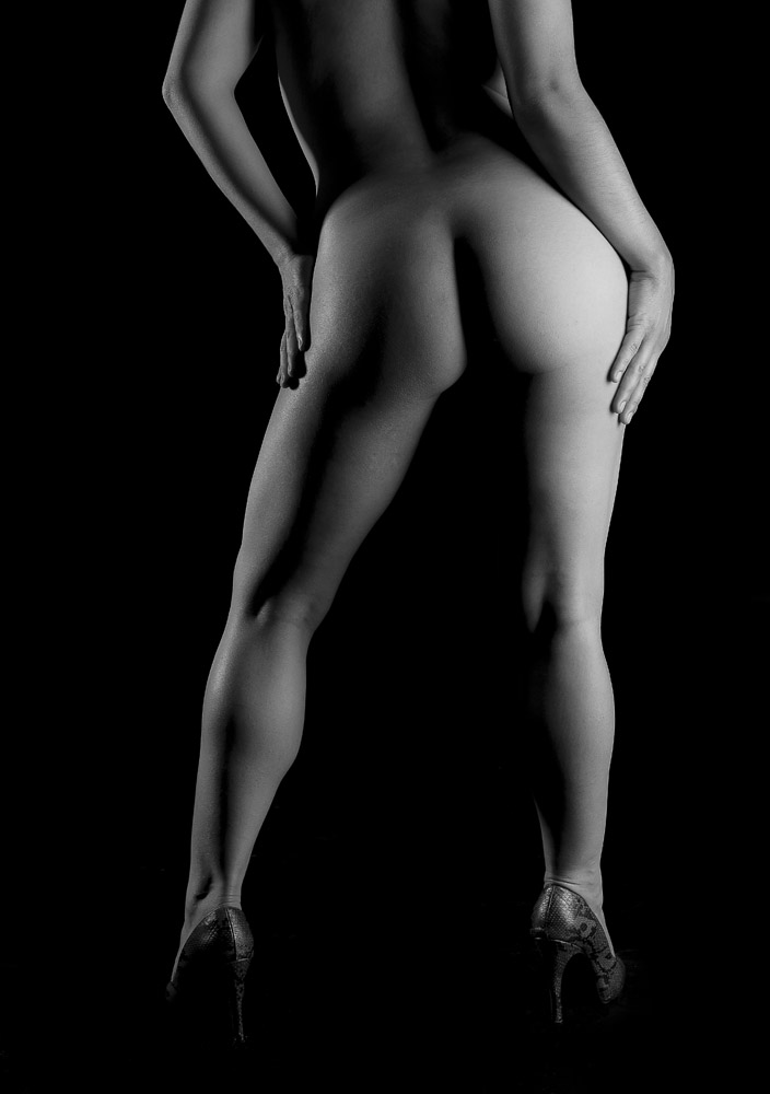 Modelos desnudos altamente educados