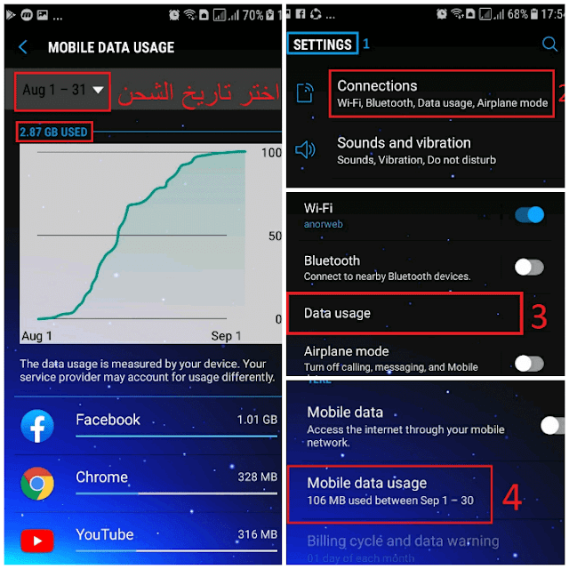 Phone Data Usage
