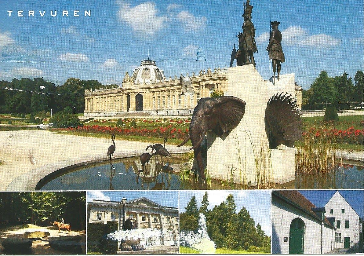 MY POSTCARD-PAGE: BELGIUM ~ AfricaMuseum - Tervuren ~