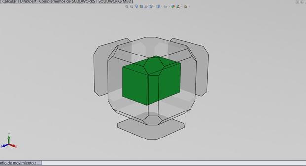 seleccion de vistas atajo de teclado con Solidworks combinacion ctrl y space