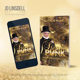 Premade Book Cover Design: PMBC73 by @jolinsdell