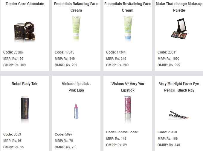 October 2012 online product flyer ~ Glowith Oriflame - how to make online flyers
