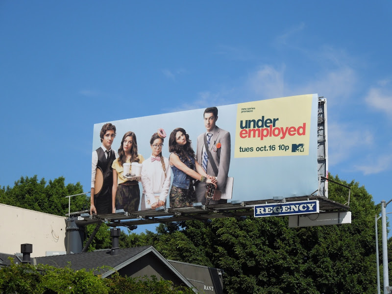 Underemployed MTV billboard
