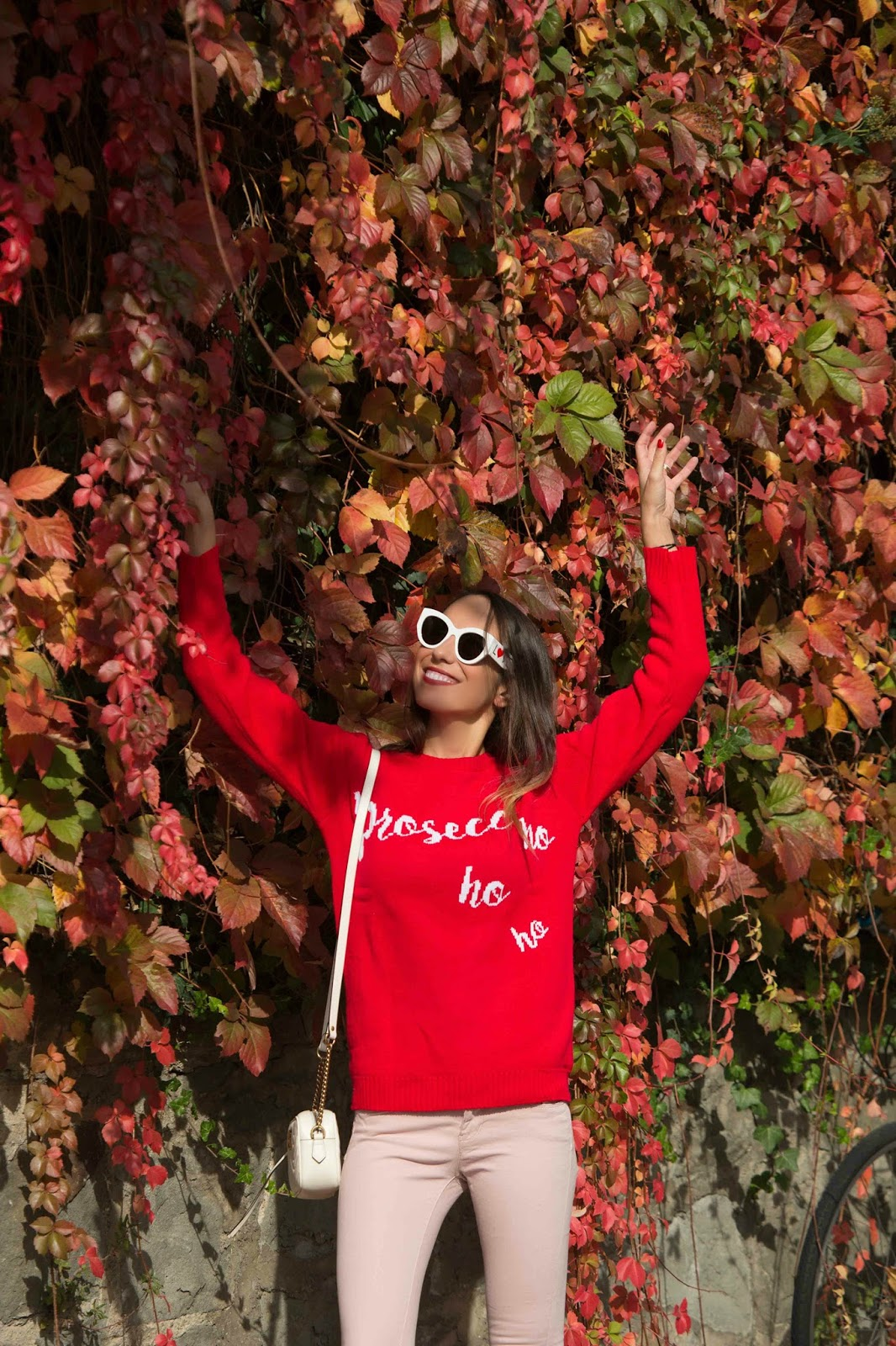 maglione rosso natalizio