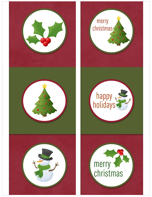 Christmas+red+green+circles+done - 30+ FREE Christmas Printables