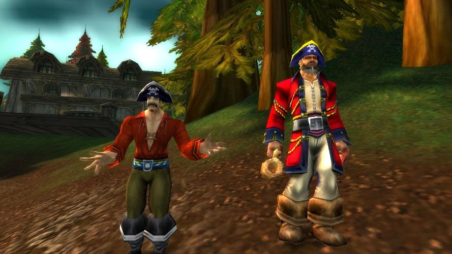 World of warcraft pirate understood