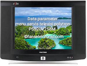 data parameter tv polytron ps52uv25bm