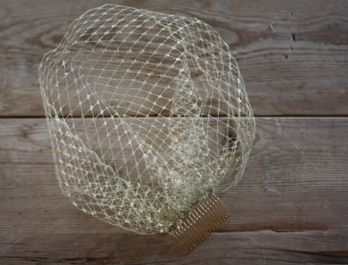 How To Make A DIY Birdcage Veil For Your Wedding 17 Apart