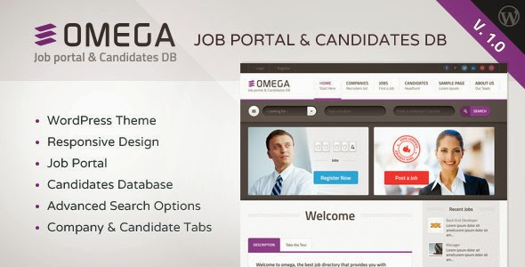 Job Portal and Candidate Database Template