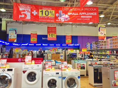 promo appliance fair carrefour