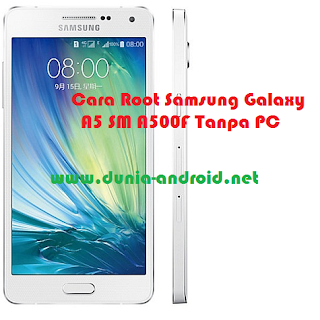 Root Samsung Galaxy A5 SM A500F