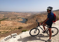 Cycling in orjan in Jordan