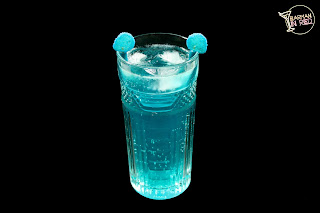 blue motorcycle cocktail