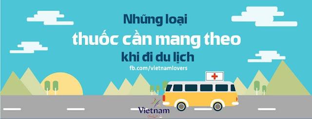 Nguyễn loại thuốc cần mang theo khi đi du lịch