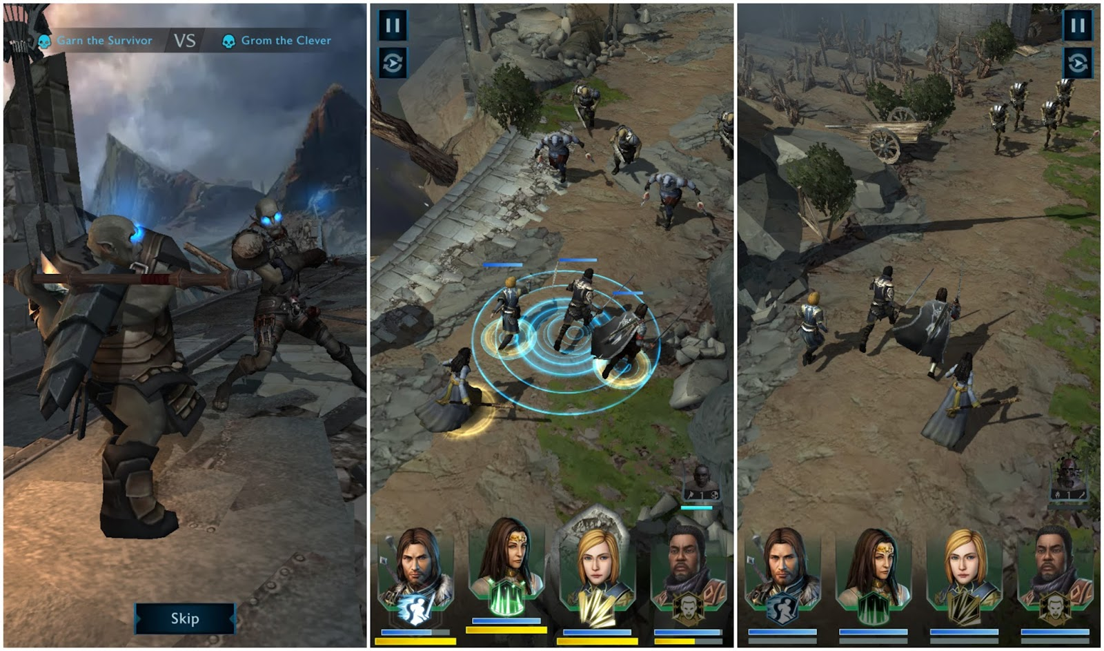 shadow of war mobile game