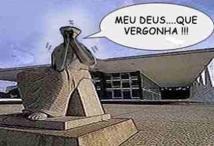 A internet, aqui em Guarapari no carnaval 2109, tá mais lenta que o Supremo Tribunal Federal, o impopular STF, julgando corrupto de colarinho branco. Saco!