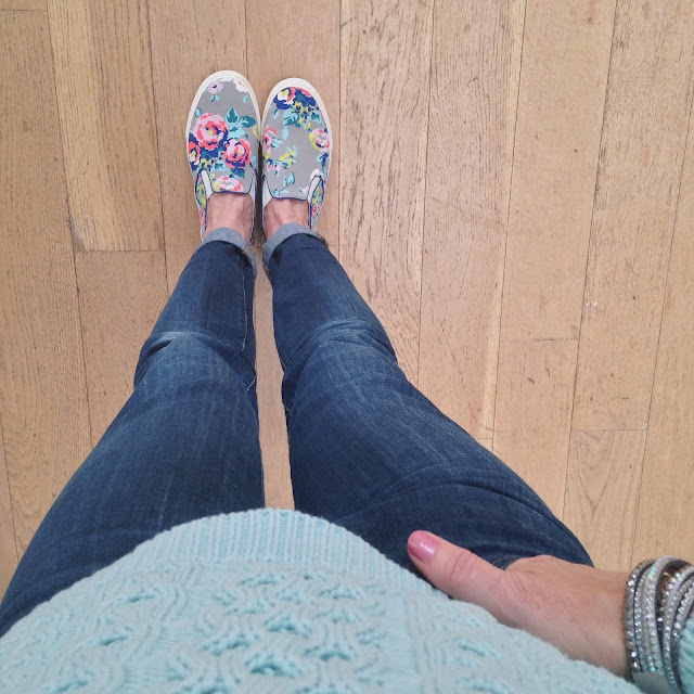 Floral pull-on trainers, What Lizzy Loves