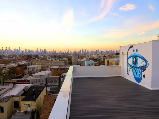 Australian Street Artist Reka Stops By New York City to paint in Bushwick and Queens - November 2013. 4