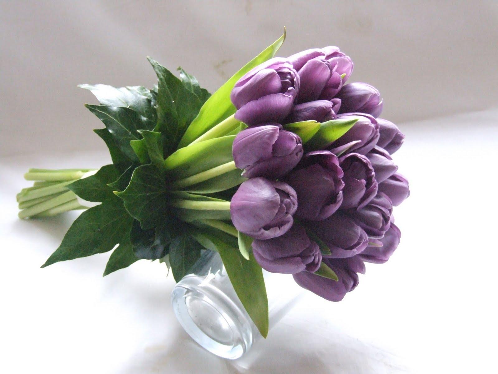 Sandra's Flower Studio: Spring Tulip Wedding Flowers