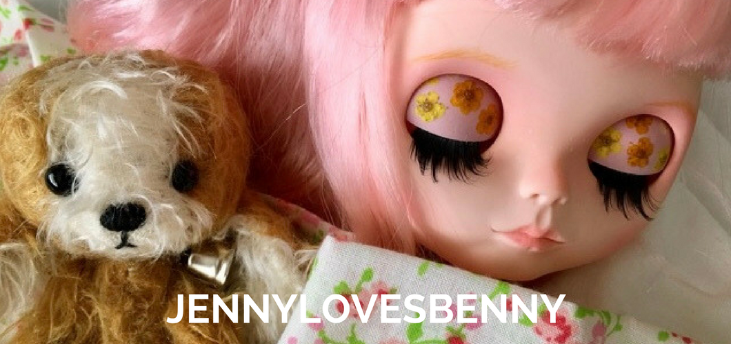 JennyLovesBenny Bears & Dolls ~ creating smiles and beautiful memories to share...