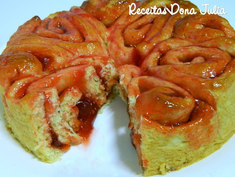 Rosca de morango