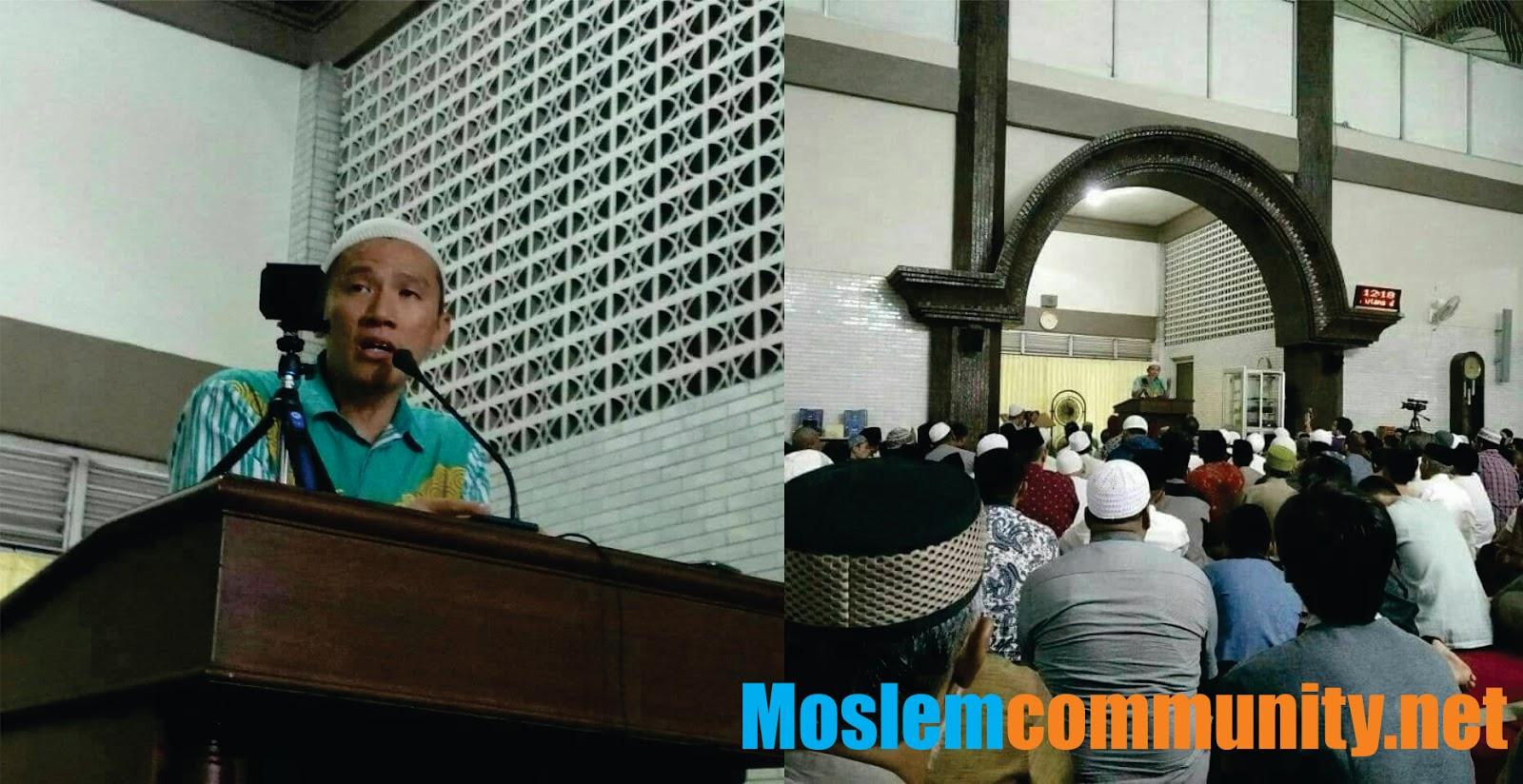Ustadz Felix Ceramah di Masjid Manarul Islam Bangil