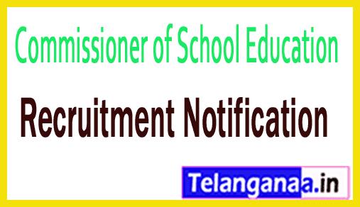 Commissioner of School Education Recruitment