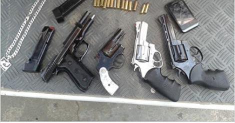 9º BPM em Delmiro Gouveia apreendeu  11 armas de fogo em maio, PM apreendeu mais de 180 em todo estado