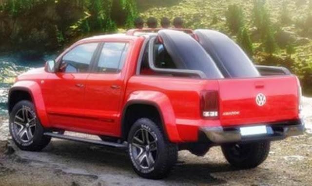 2017 VW Amarok Redesign
