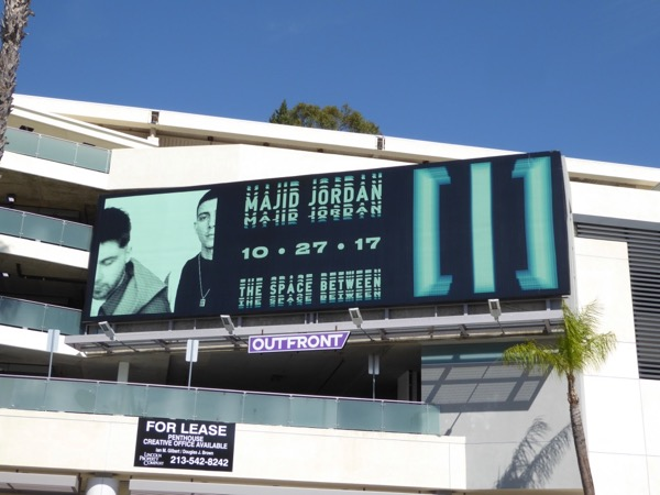 Majid Jordan Space Between billboard